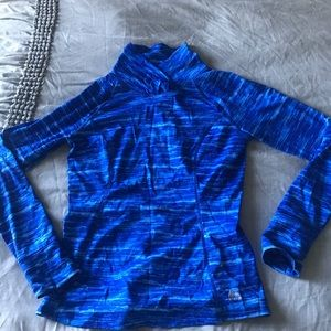 Sweaters - Blue Athletic Thermal